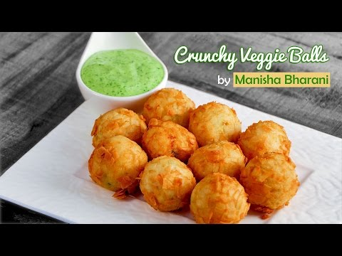 Crunchy Veggie Balls – Quick & Easy Starter Idea – Party Appetizer Recipe