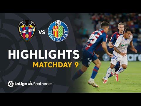 Levante vs Getafe</a> 2021-10-16