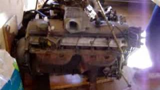 Engine M30 Working on the floor