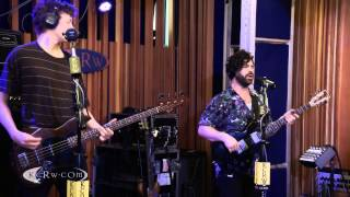 "Foals performing ""My Number"" Live on KCRW"