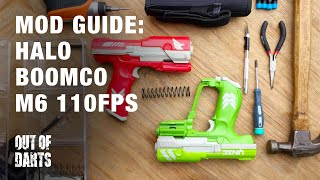 NERF MOD GUIDE: BoomCo M6 Halo blaster + Out of Darts spring