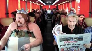"""Актеры и фильмы 80-х, Обеликс срывает рейс """"Париж - Дублин"""""""