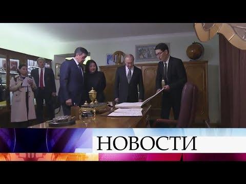 Многомиллиардные контракты и договоренность о расширении военной базы - итоги визита В.Путина.
