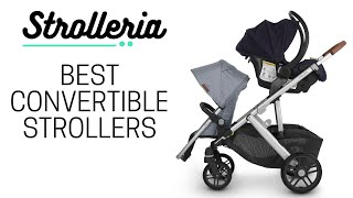Best Strollers that Convert to a Double | Single-to-Double Strollers for Toddler and Newborn