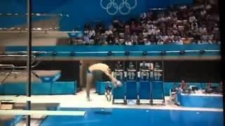 Stephan Feck German Diver Lands On Back