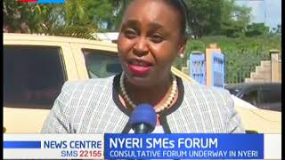 State department for industrialization conducts public consultation forum for SMEs in Nyeri