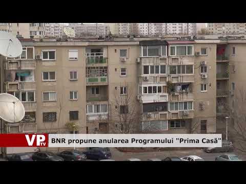 """BNR propune anularea Programului """"Prima Casă"""""""