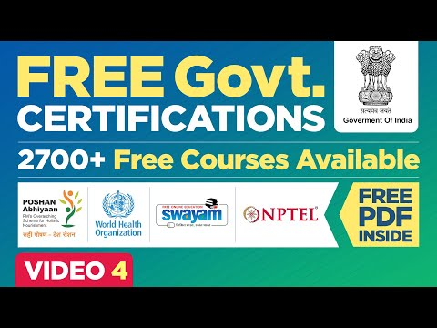 Free Government Courses with Certifications  Online ... - YouTube