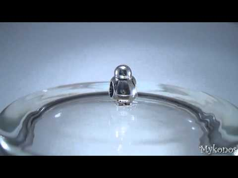 Pandora Penguin Bead In Sterling Silver Charm 790423