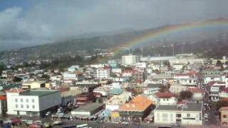 preview picture of video 'Arcoiris en Roseau. Dominica'