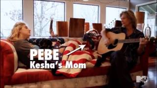 Kesha Singing With Her Mom