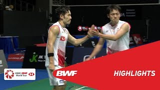 Singapore Open 2019 | Semifinals MD Highlights | BWF 2019