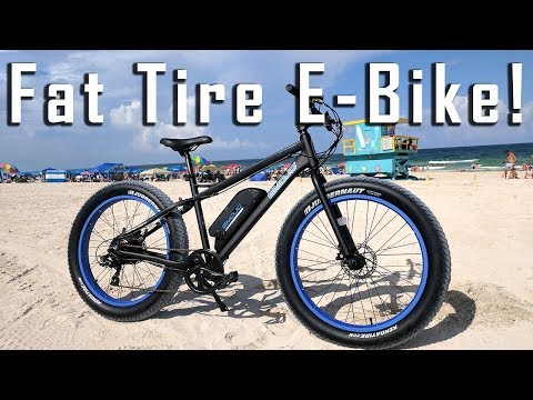 Fat Tire Electric Bike Review – Emojo Wildcat 48v