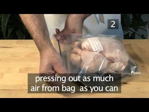 How To Defrost Poultry & General Hygiene