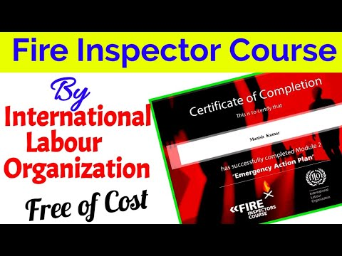 Free Fire Inspector & Fire safety course by ILO - YouTube