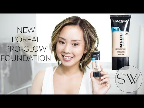 L'OREAL INFALLIBLE PRO GLOW FOUNDATION REVIEW