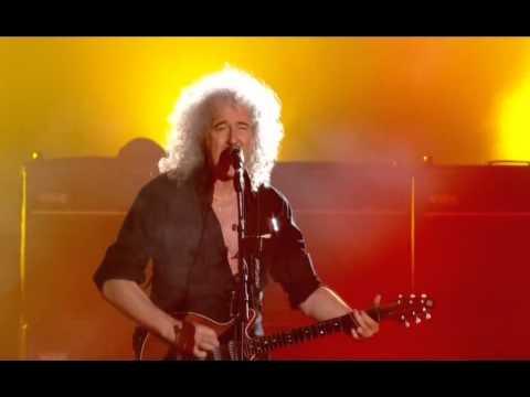 """21. Queen & Adam Lambert """"Tie Your Mother Down""""(Live in Kiev)"""