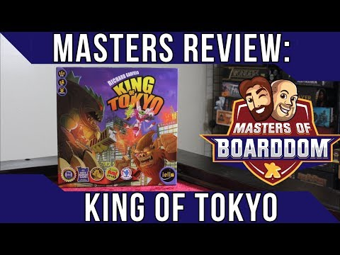 King of Tokyo Review - Masters of Boarddom