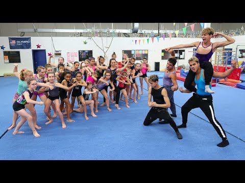 HARDEST GYMNASTICS COMPETITION (WHO WILL WIN?)
