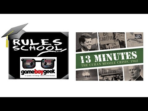 Learn How To Setup & Play 13 Minutes (Rules School) with the Game Boy Geek