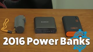 Top 3 Power Banks 2016!