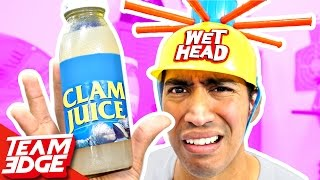 Gross Wet Head Challenge!!