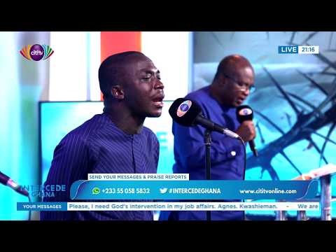 Rev. Dr Robert Ampiah-Kwofi leads prayer at Intercede Ghana | Citi Tube
