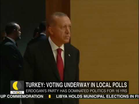 Turks vote in local polls which Erdogan could lose in big cities