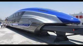 How maglev train work.