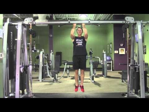 Iso Pull Up + Leg Raise - HASfit Abdominal Exercises - Ab Exercises - Abs Exercise