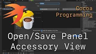Cocoa Programming L85 - Open/Save Panel Accessory View