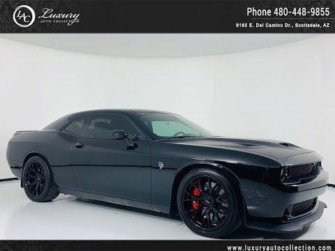 Pre-Owned 2015 Dodge Challenger SRT Hellcat Coupe