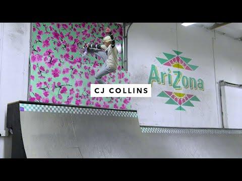 Afternoon In The Park: CJ Collins | Transworld Skatepark