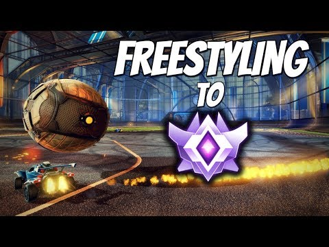 FREESTYLING TO GRAND CHAMPION | Ranked 2v2 w/ Jake! (Rocket League Gameplay)