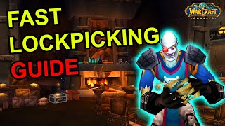 Fast 1-300 Rogue Lockpicking Guide - Classic WoW