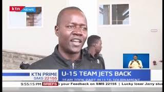 Kenya National U-15 team bows out at quarter-final stage