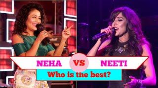 Neha Kakkar VS Neeti Mohan comparison songs. Comment who is the best 1080p.