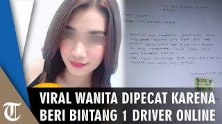Viral Wanita Dihujat Netizen hingga Dipecat Perusahaan karena Beri Bintang 1 ke Driver Taksi Online