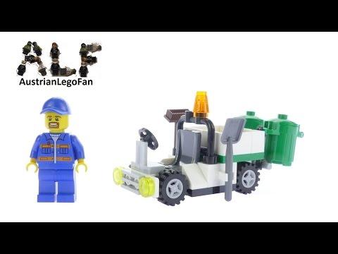 Vidéo LEGO City 30313 : Garbage Truck (Polybag)