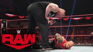 Ricochet pays a painful price for challenging Brock Lesnar: Raw, Jan. 20, 2020