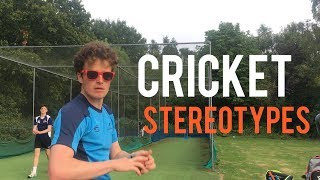 CRICKET STEREOTYPES | The Cricket Coach