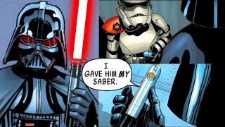 When Darth Vader gave His Lightsaber to a Stormtrooper(Canon) - Star Wars Comics Explained