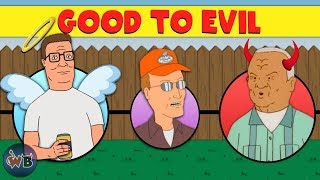 King of the Hill Characters: Good to Evil.