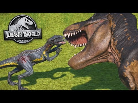 Jurassic World Evolution: BIGGEST BATTLE ROYAL YET - ALL DINOSAURS! | Jurassic World Evolution | HD