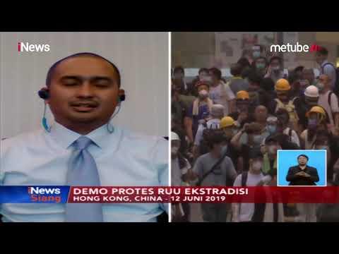 Demo di Hong Kong, Ada 2 Bank BUMN Indonesia Beroperasi - iNews Siang 13/06