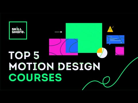 TOP 5 MOTION DESIGN COURSES 2020 - YouTube