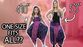 Women Try One Size Fits All Clothes thumbnail