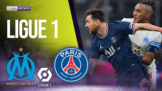 Marseille vs PSG   LIGUE 1 HIGHLIGHTS   10/24/2021   beIN SPORTS USA