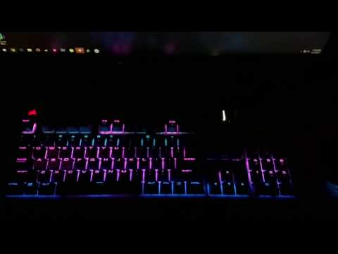 Corsair RGB Audio Visualization Faded Alan Walker CH3VY Remix