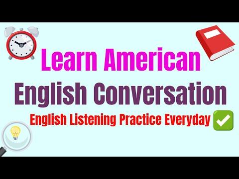 Learn American English Conversation ★ Practice Improve Listening English Online & Free ✔